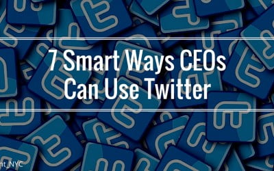 7 Smart Ways CEOs Can Use Twitter